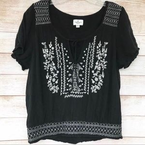 🎉3 for $30! American Eagle Boho Peasant Top